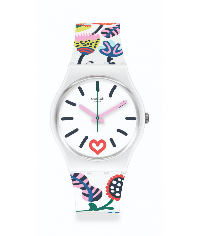 SWATCH JUST FLOWERS