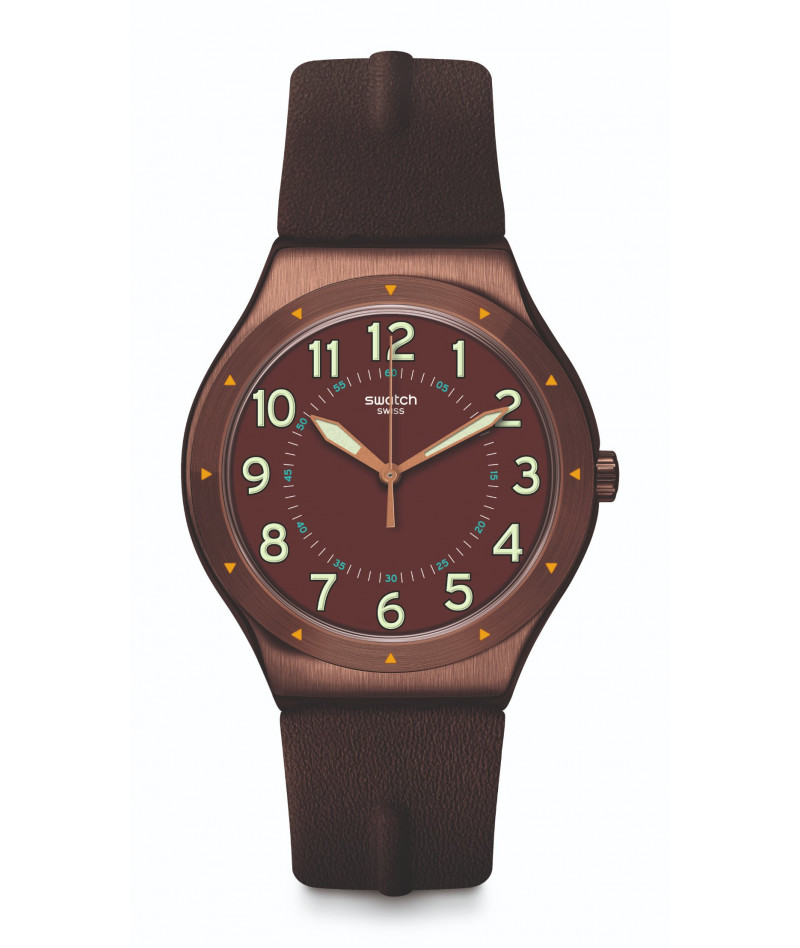 SWATCH COPPER TIME